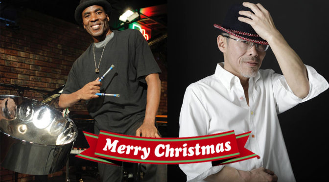 12/22(sat) 第11回森の音楽会 「Tony Guppy(steelpan) & 深井克則(key) 」Christmas Special LIVE